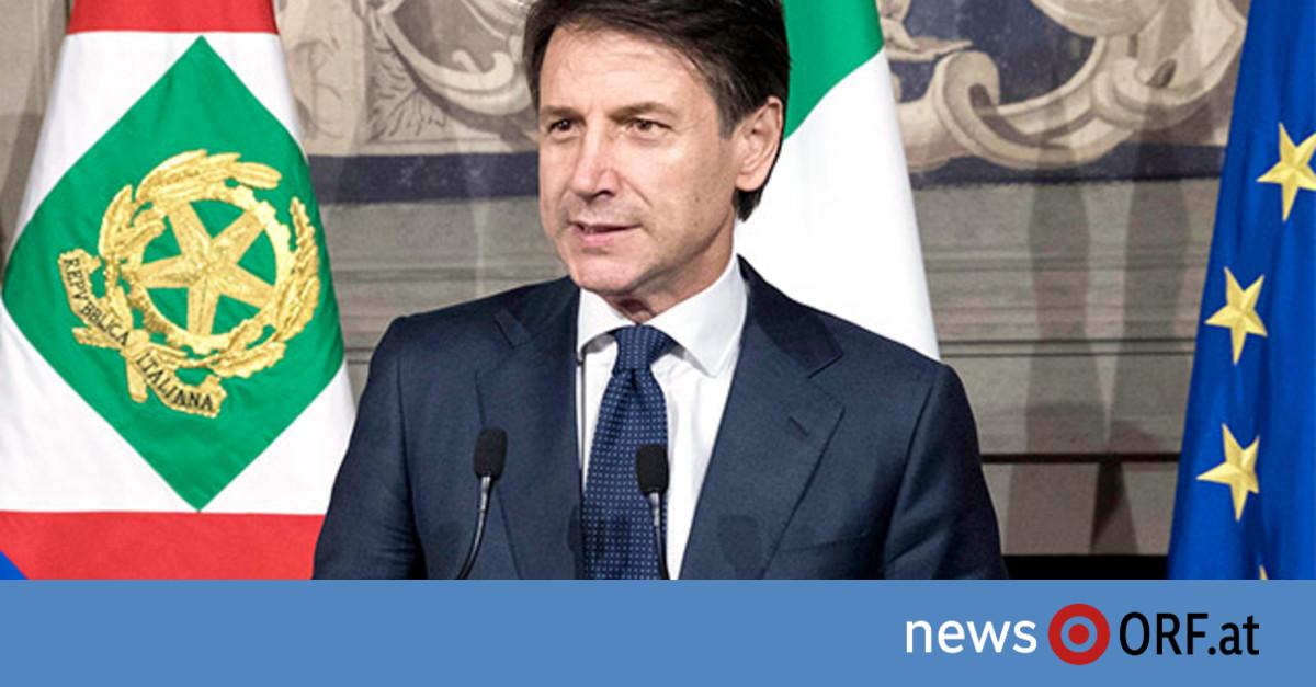Regierung so gut wie fix: Conte nahm Regierungsauftrag an