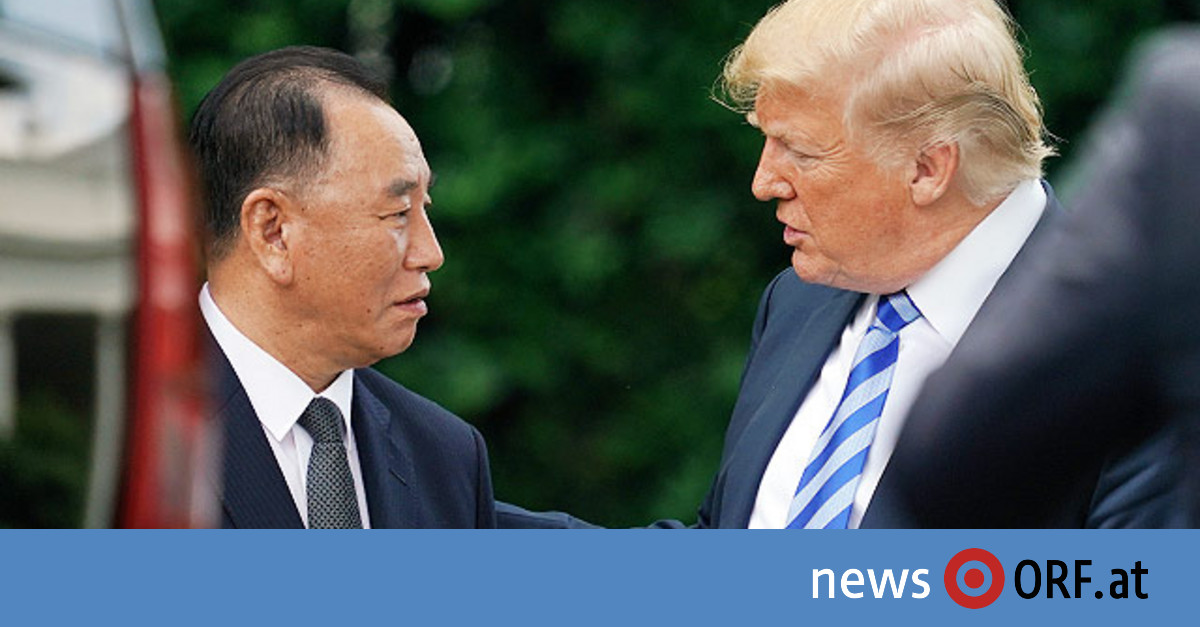 Trump fixiert Treffen mit Kim