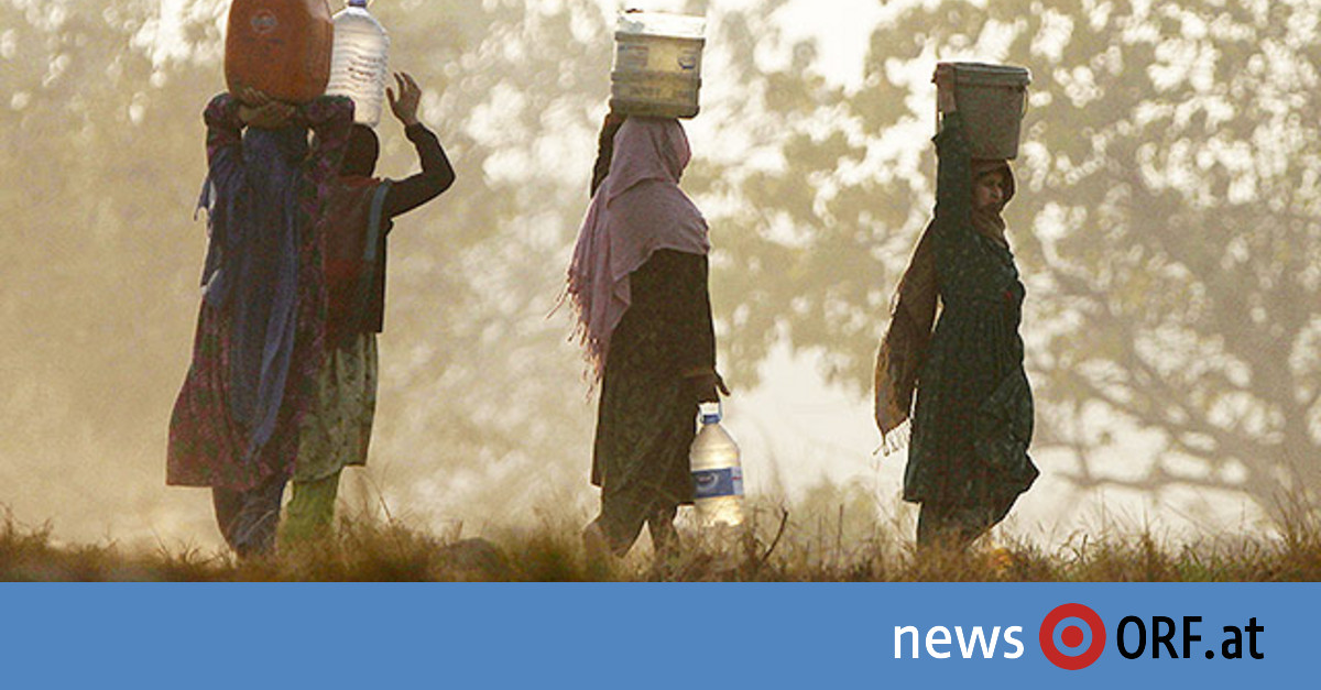 Pakistan steht Dürre bevor