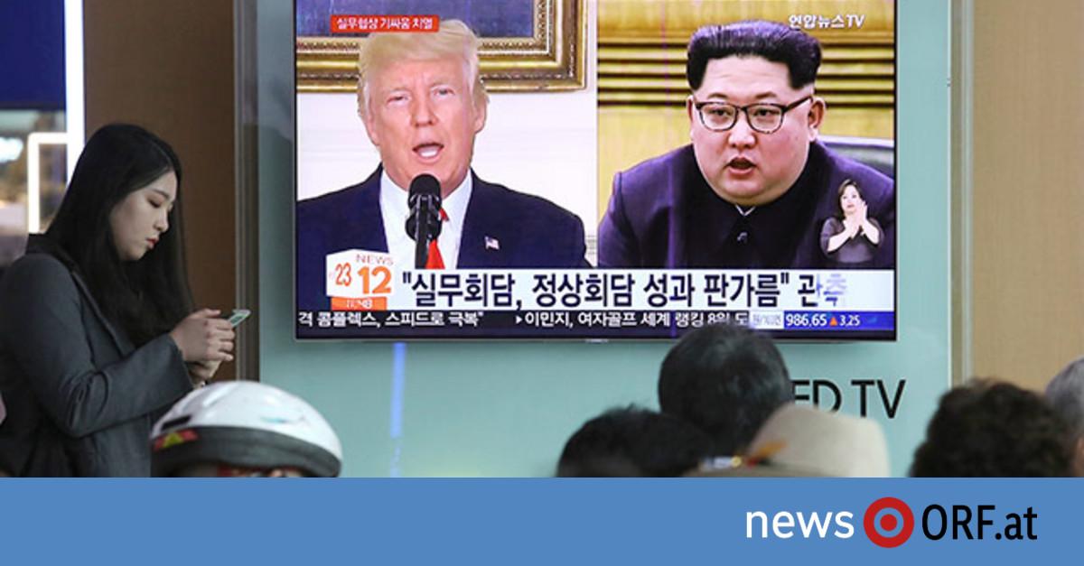 """Trump und Kim mit """"einmaliger Chance"""""""
