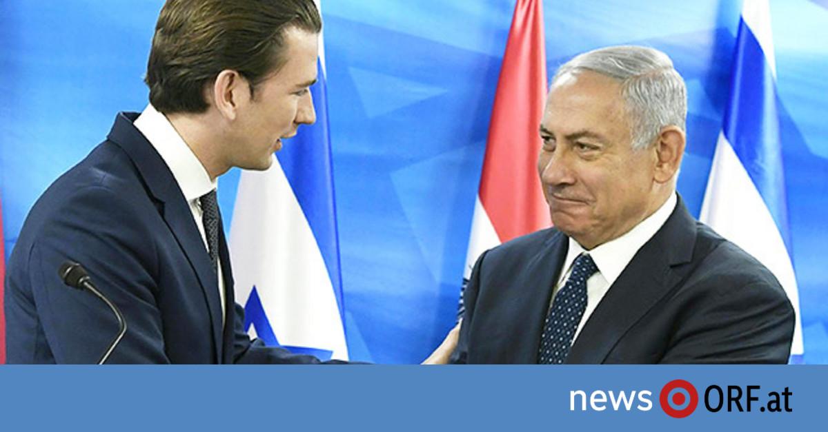 Lob für Kurz von Netanjahu