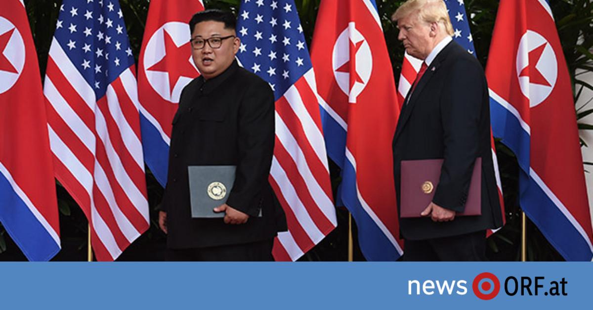 """Kim und Trump wollen """"stabile Friedenslösung"""""""