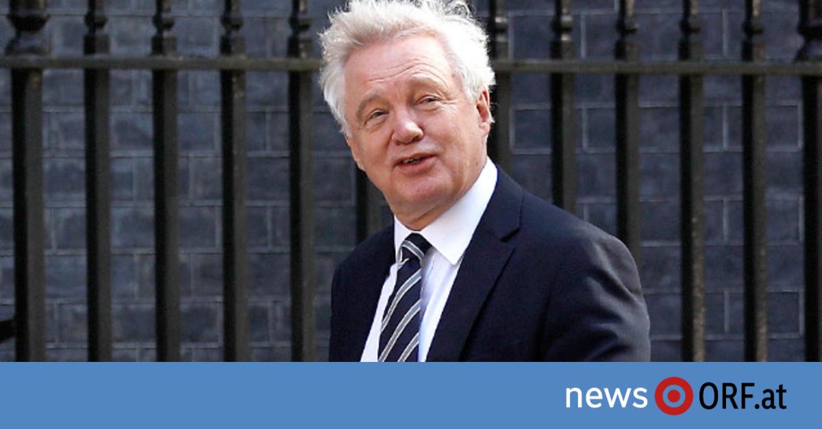 """""""Brexit""""-Minister wirft Handtuch"""