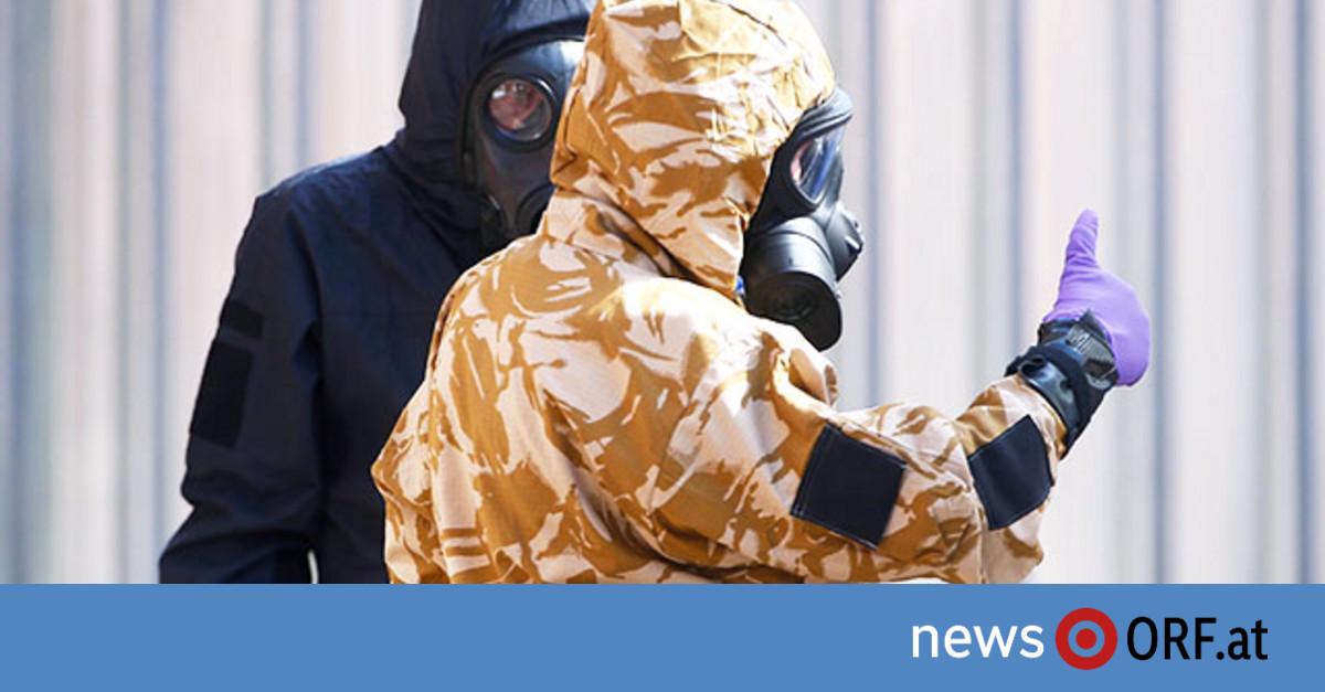 Scotland Yard findet Nowitschok-Behälter
