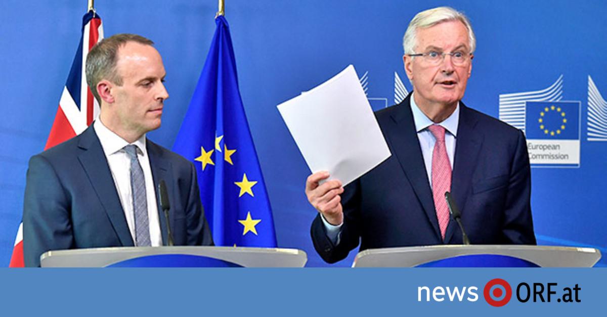 """Britisches """"Brexit""""-Chaos beunruhigt EU"""