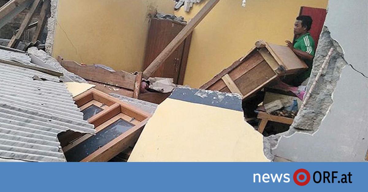 Mehrere Tote bei schwerem Erdbeben