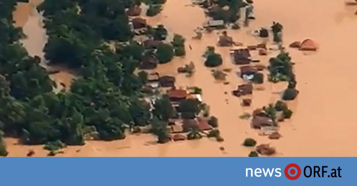 Dammbruch in Laos: Tote und Hunderte Vermisste