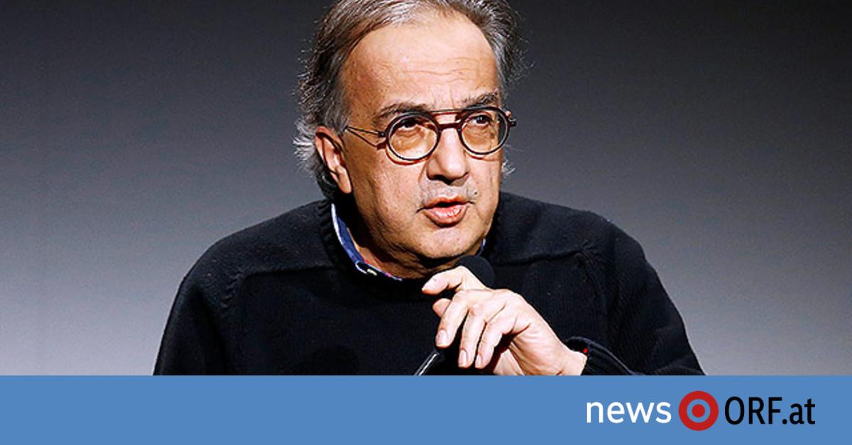 Langjähriger Fiat-Chef Marchionne tot
