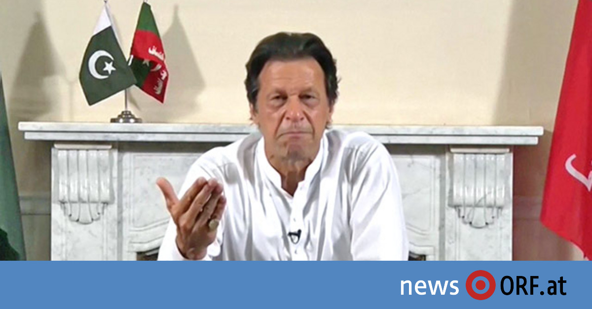 Ex-Kricket-Star Khan verkündet Wahlsieg