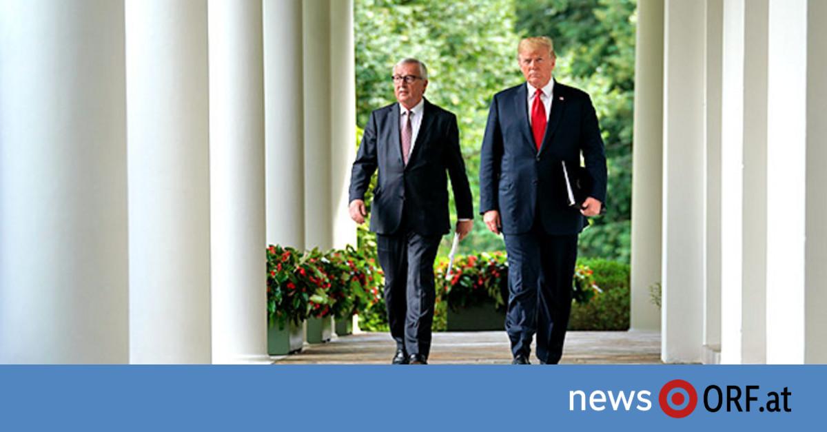 Juncker und Trump verkünden Deal