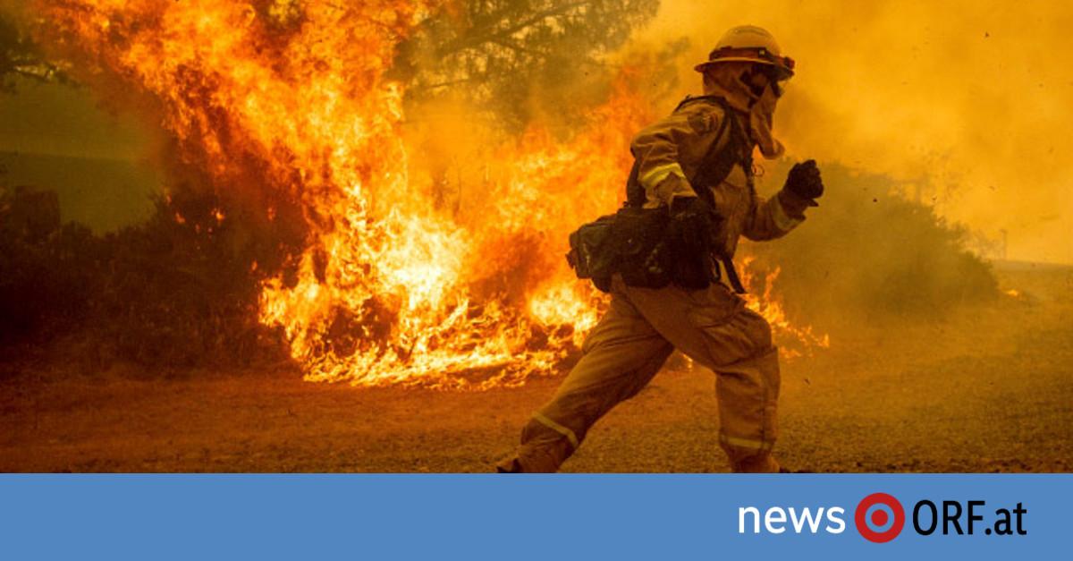 Kalifornien kämpft gegen Waldbrände