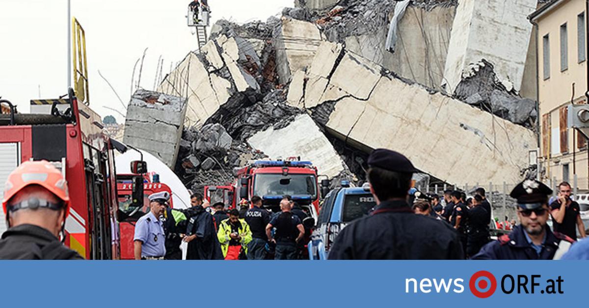 Über 30 Tote in Genua