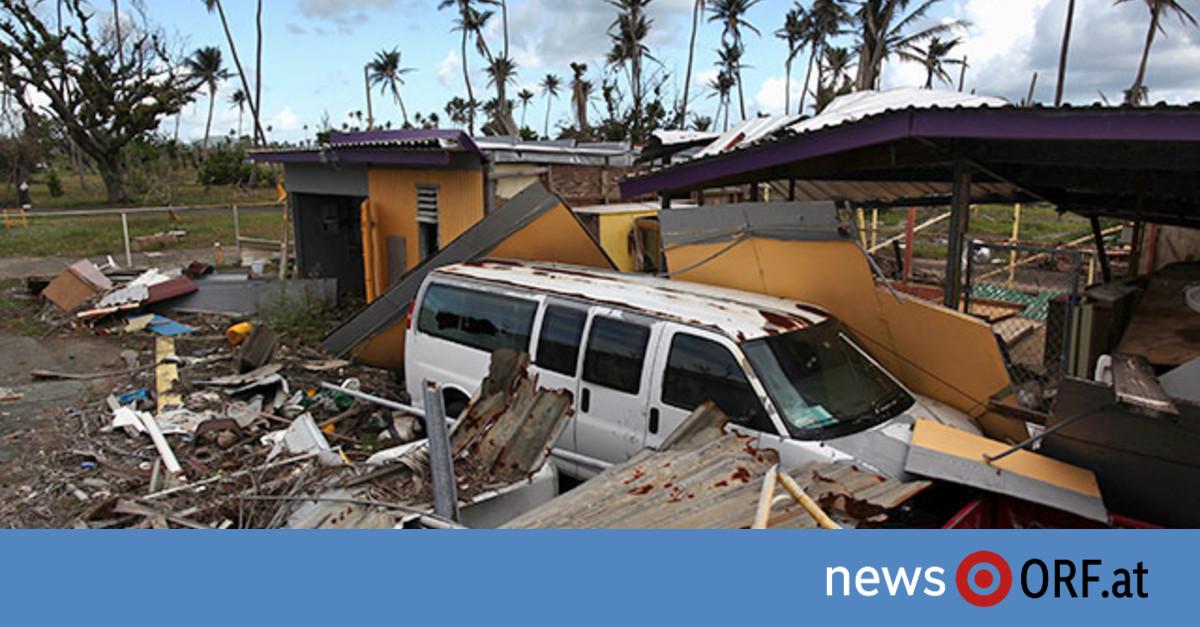 Puerto Rico korrigiert Opferzahl auf 2.975