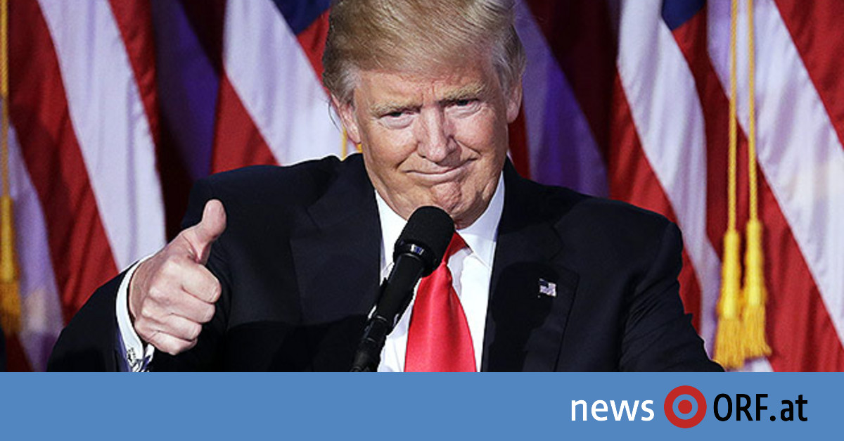 Donald Trump Neuer Präsident