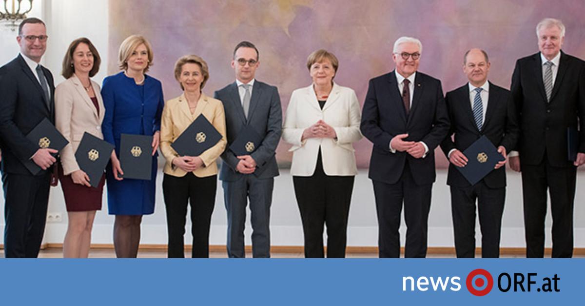Kabinett Merkel 1
