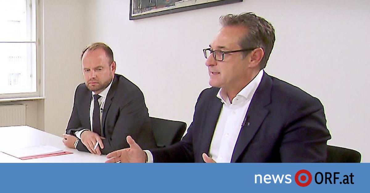 """Causa Casinos und """"Ibiza""""-Affäre: Strache weist Vorwürfe zurück"""