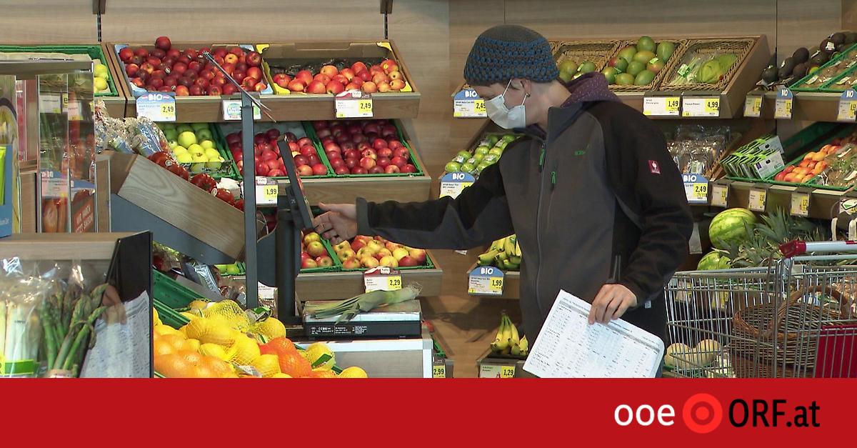 Französischer Perversling Im Supermarkt