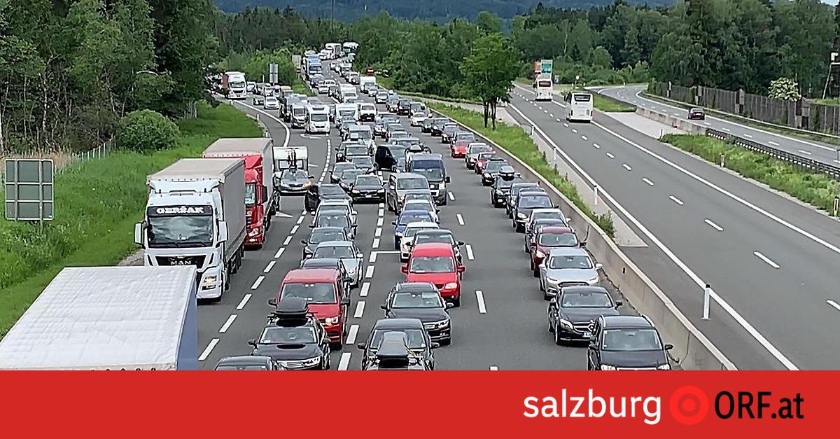 Baustellen A8 München Salzburg