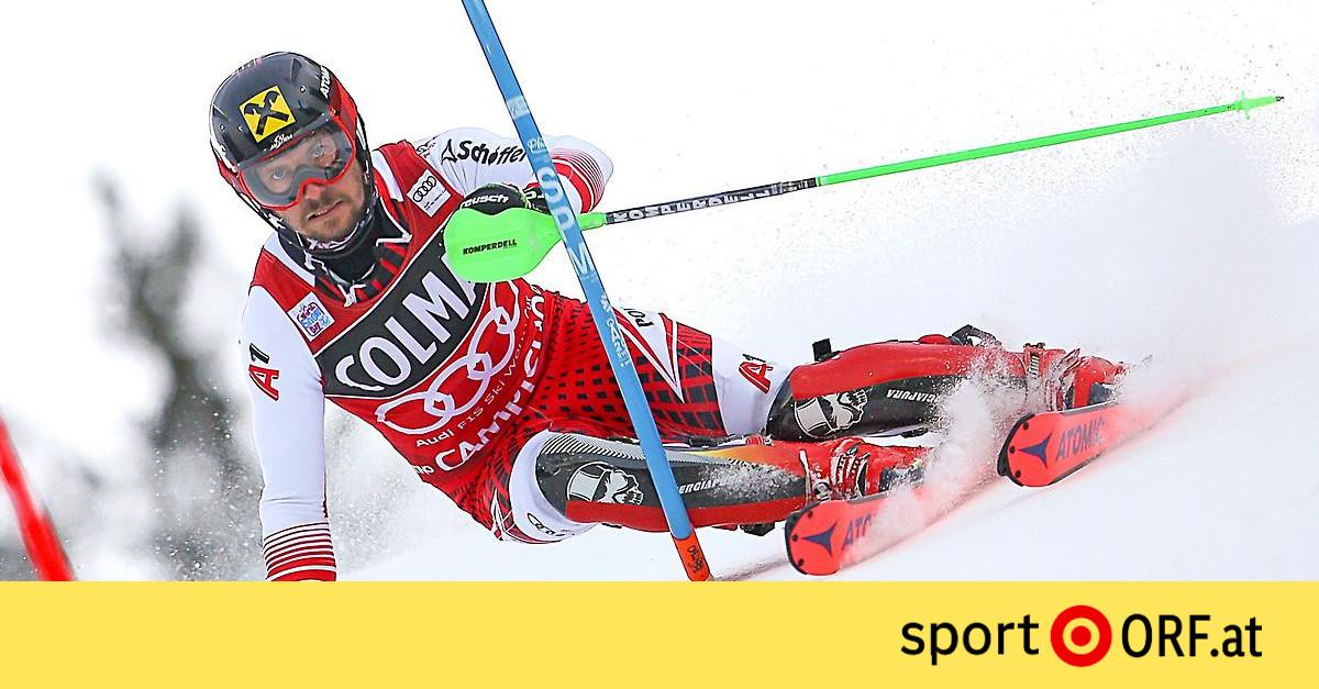 Ski Alpin Hirscher Führt Knapp Vor Kristoffersen Sportorfat