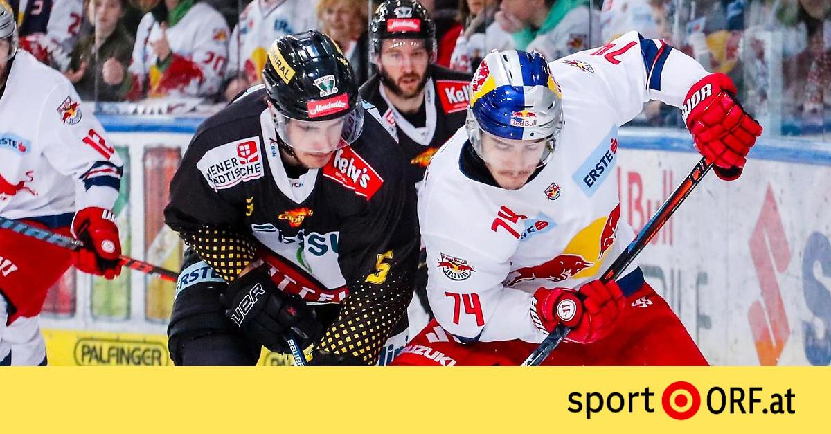 Eishockey Verl U00e4ngerungskrimi In Salzburg An Capitals