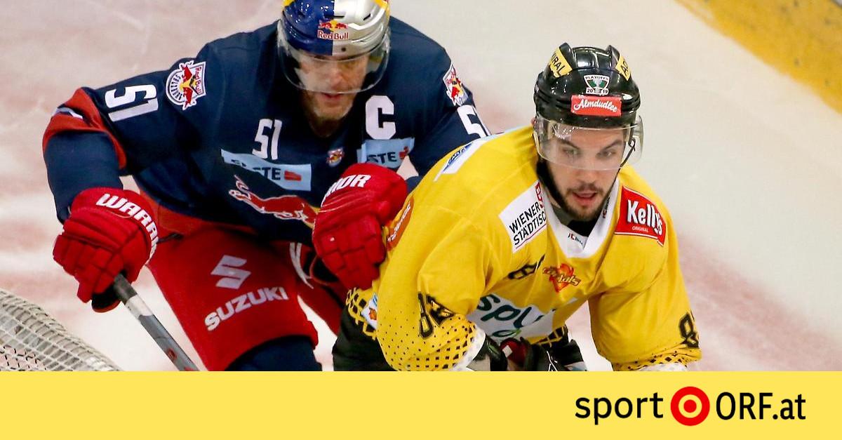 Eishockey Capitals Gegen Salzburg Wieder Voran Sport ORF At