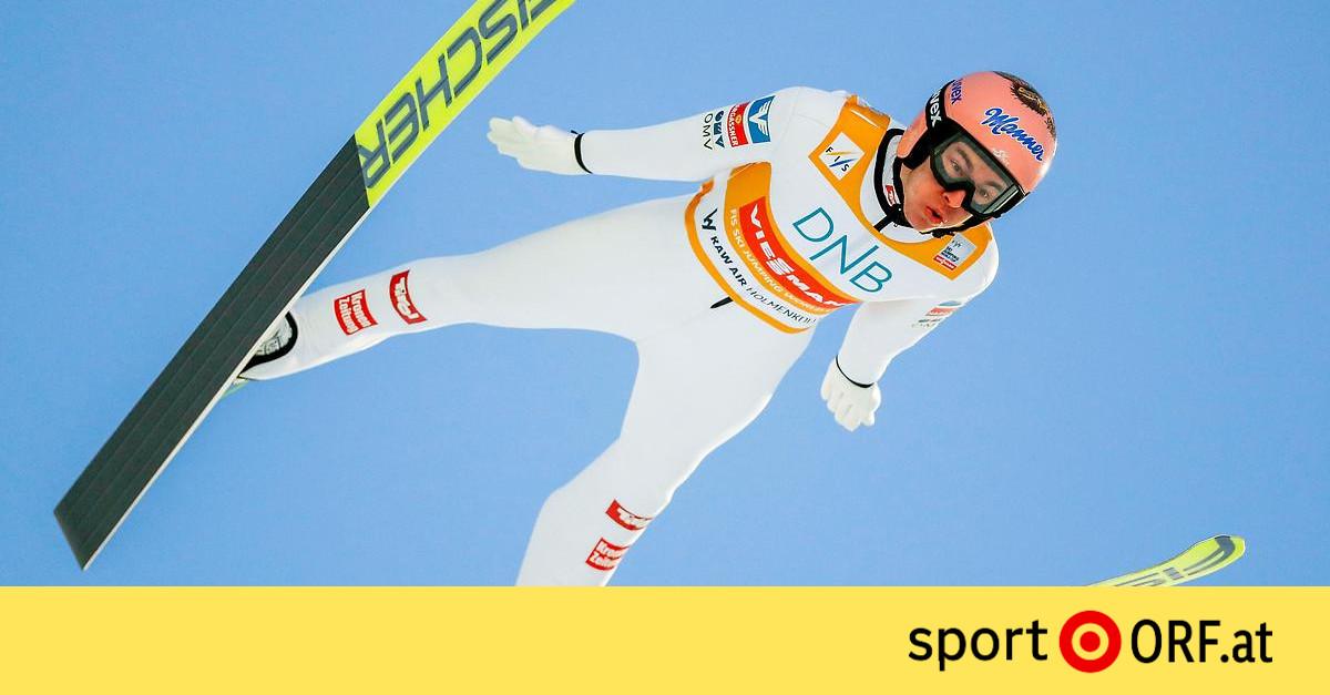 Skispringen: Platz acht für Kraft in Trondheim-Quali ...