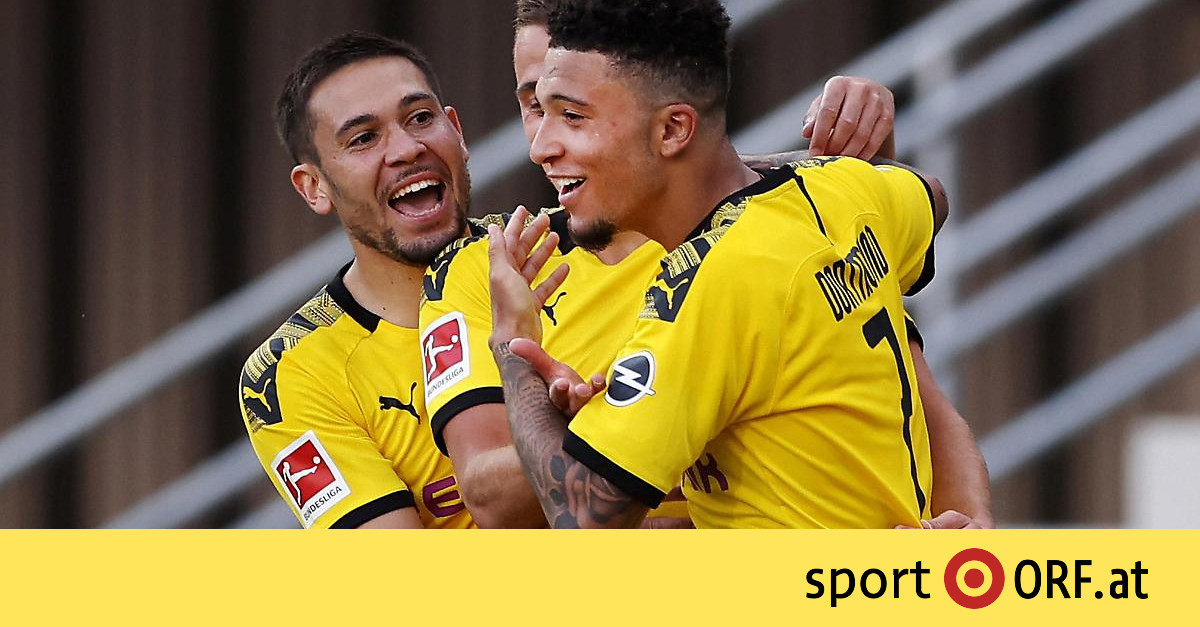 Fußballspiel Dortmund