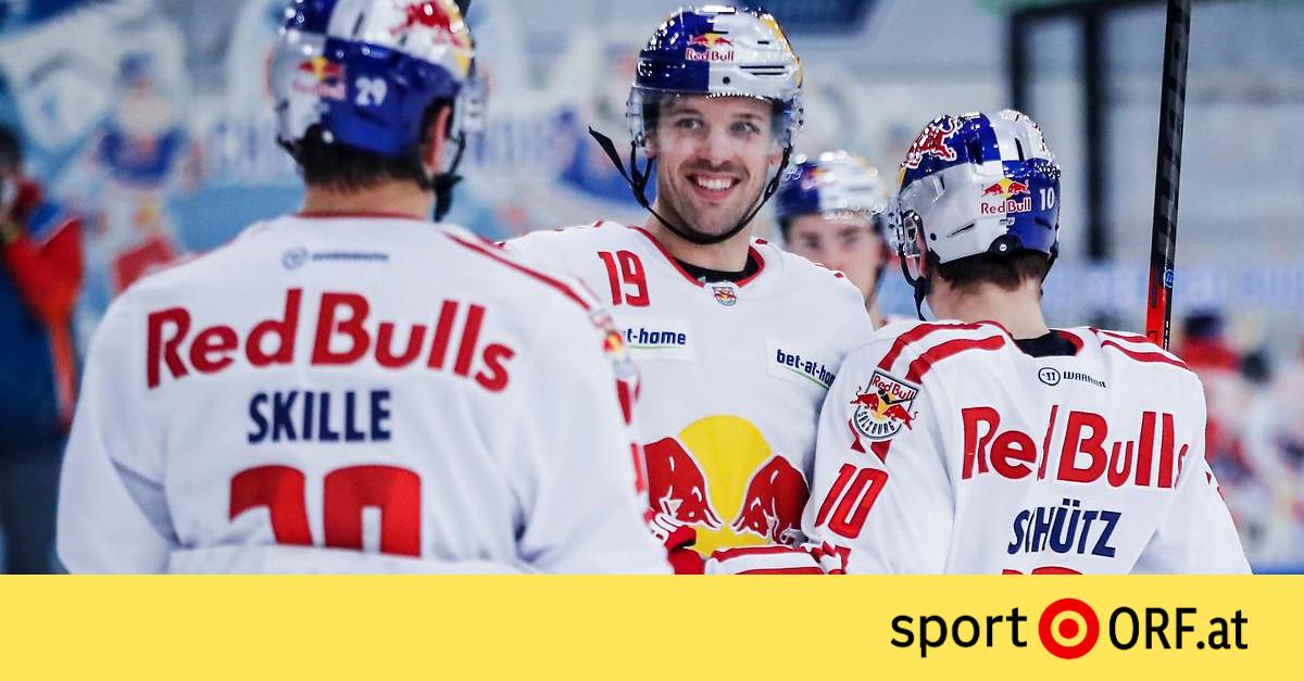 Eishockey Salzburg Fegt Graz Zweistellig Vom Eis Sport