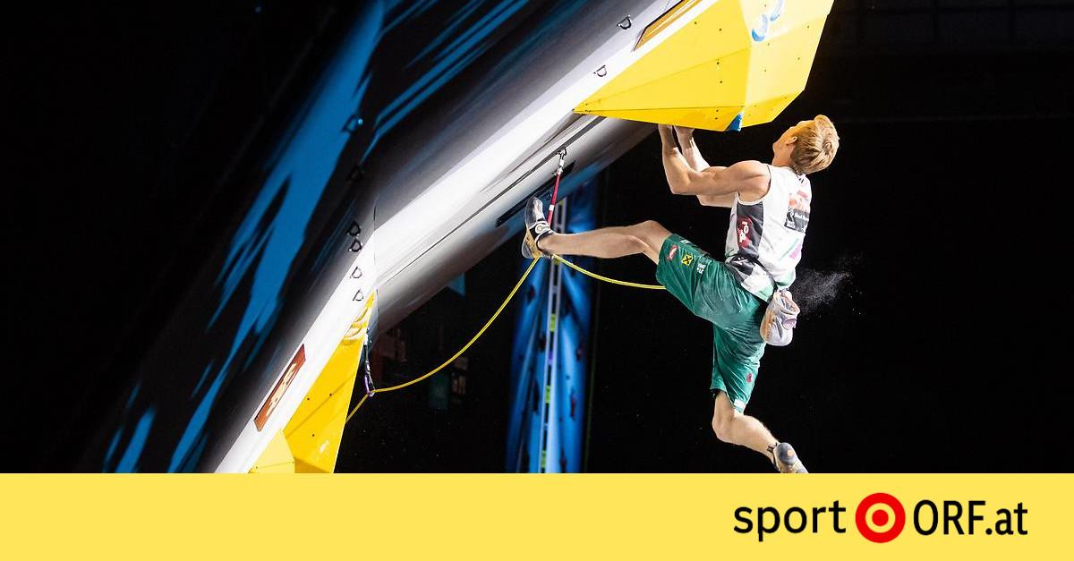 Kletter-WM: Gold für Lokalmatador Schubert – sport.ORF.at