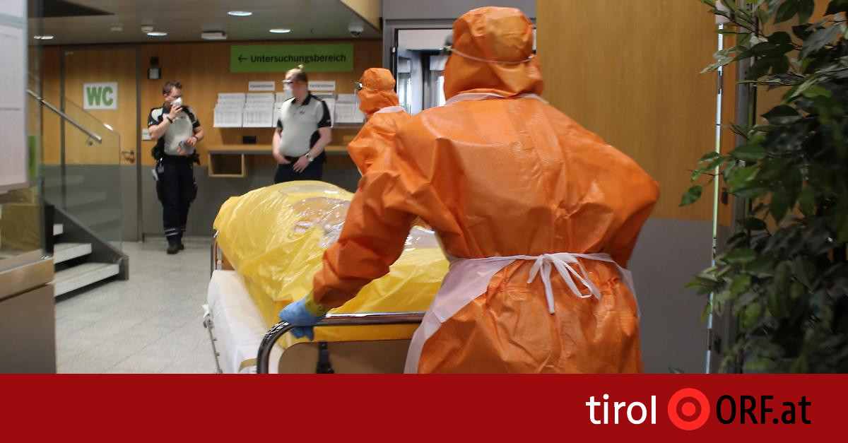 Gesundheit: Ebola-Übung an Innsbrucker Klinik