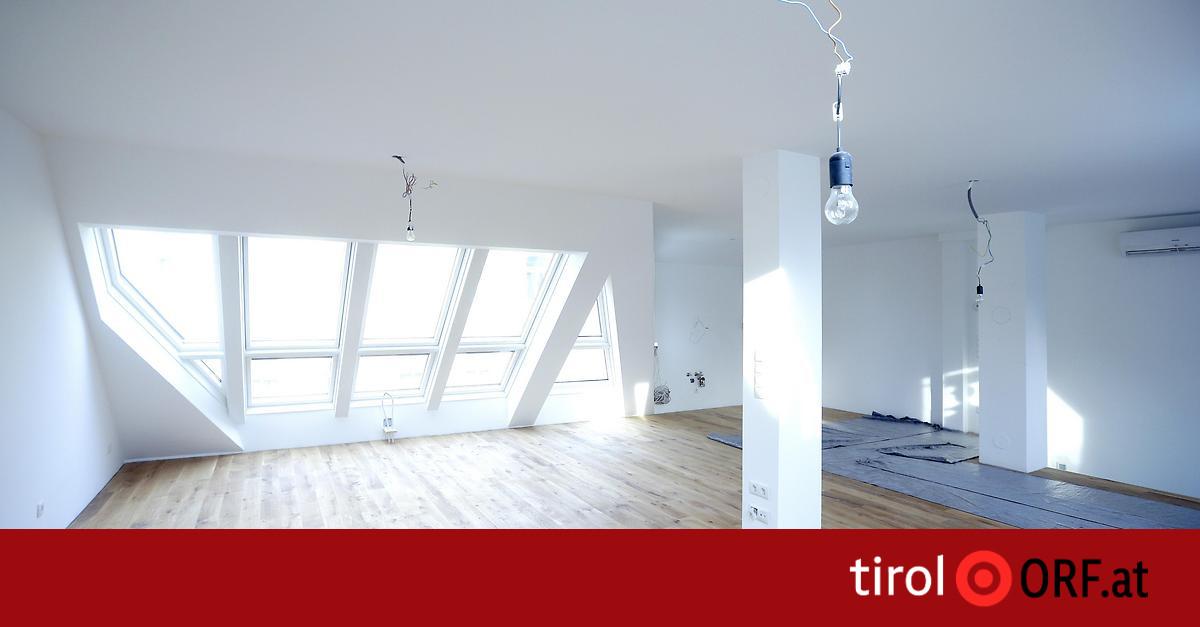 Innsbruck: Tausende Wohnungen stehen leer - ORF.at