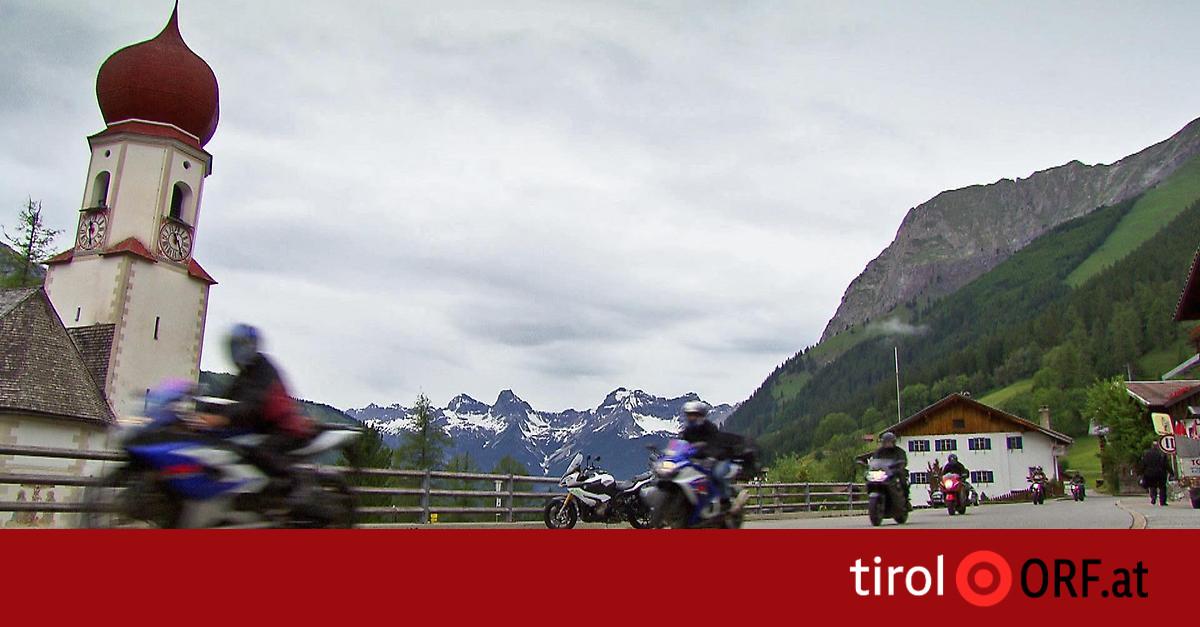 Fahrverbot Motorrad Tirol