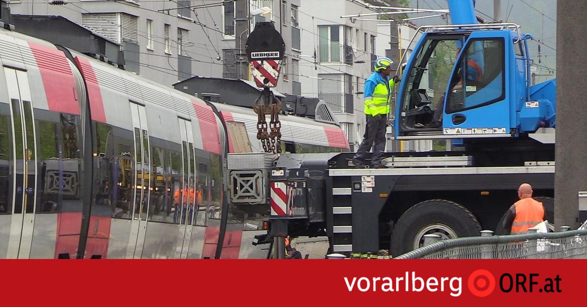 Regionalzug entgleist: Strecke wieder frei
