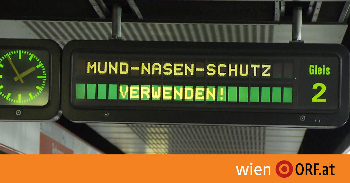 Wiener Linien verstärken Masken-Kampagne wieder